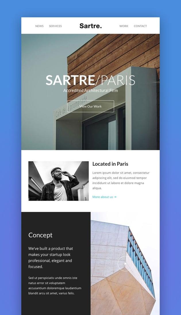 Sartre - Responsive Email Design Toolkit