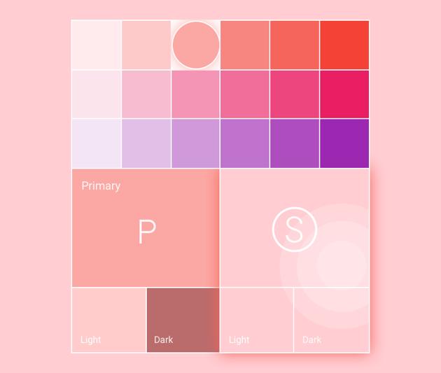 Material Designs Color Tool