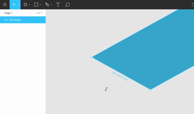 Skew Shapes For Easy Isometric Resizing