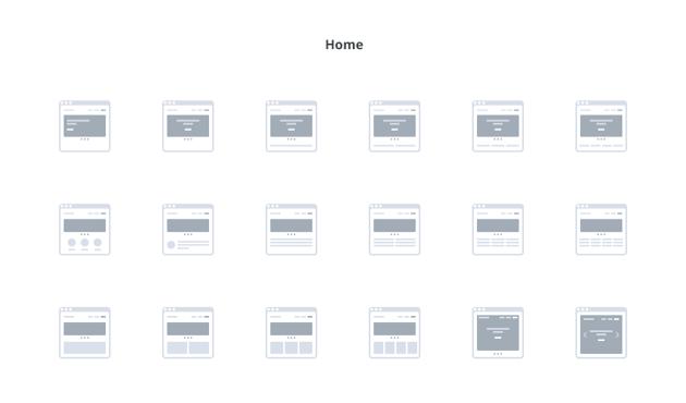 Website Userflow  Sitemap UX Kit
