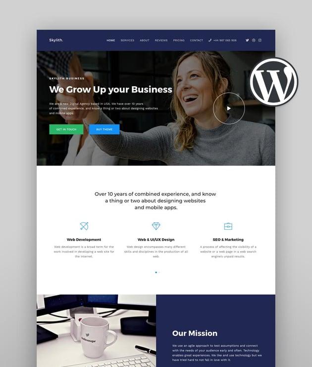 Skylith  Multipurpose Gutenberg WordPress Theme