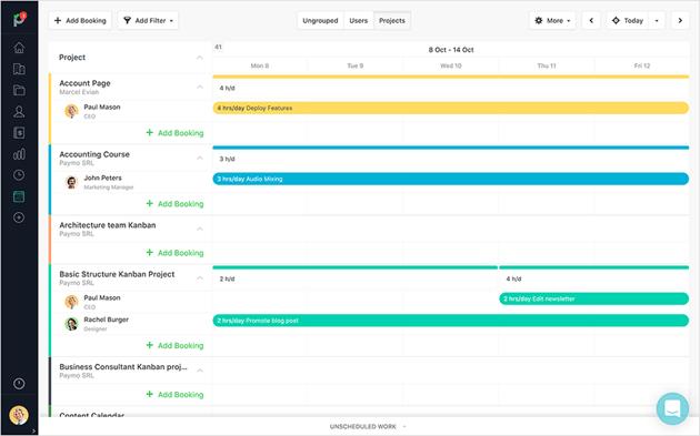 Team Scheduling module