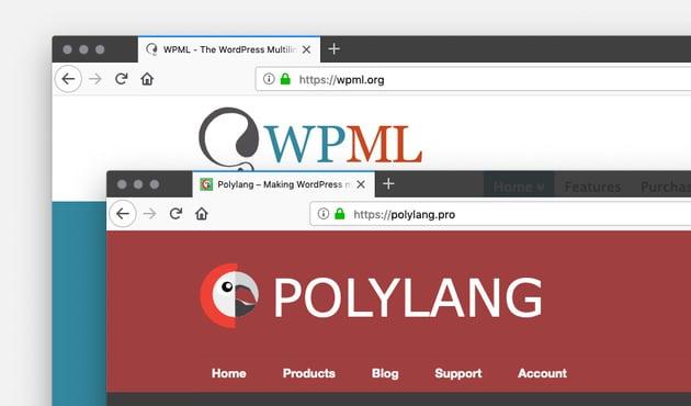 WPML and Polylang