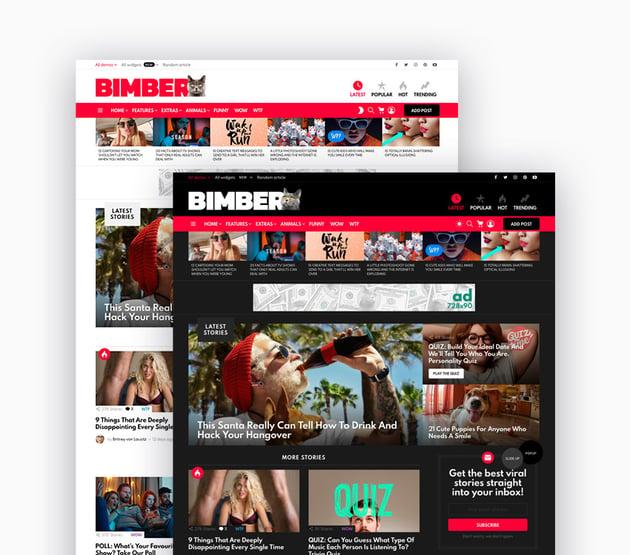 Bimber Magazine WordPress Theme