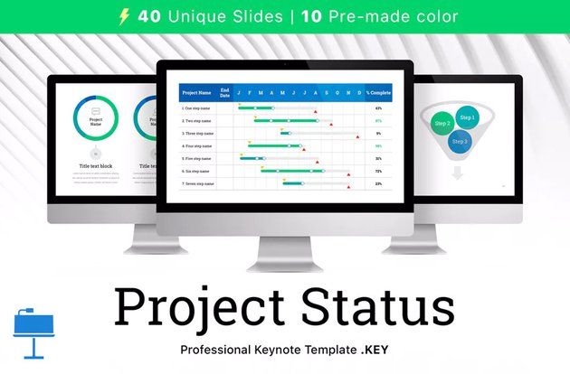 Project Status for Keynote