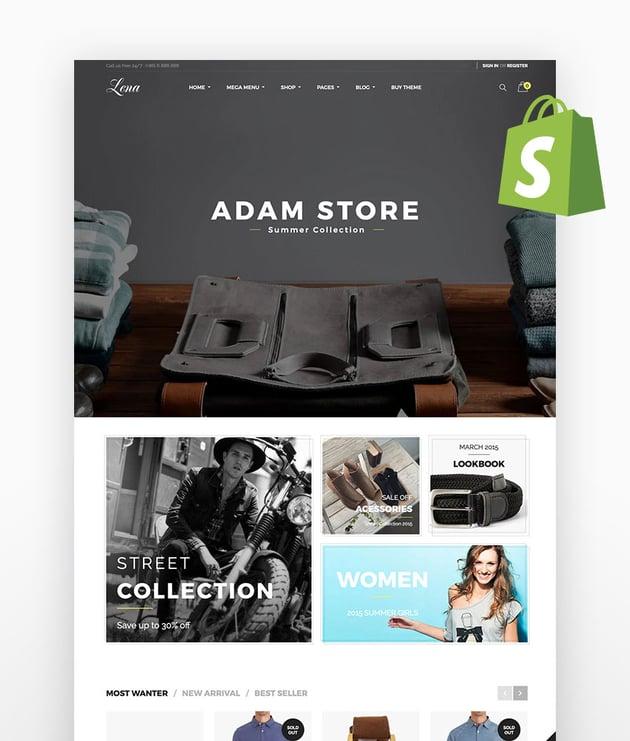 Lena Responsive Shopify Theme