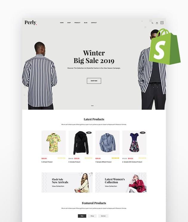 Perly Fashion Shopify Theme