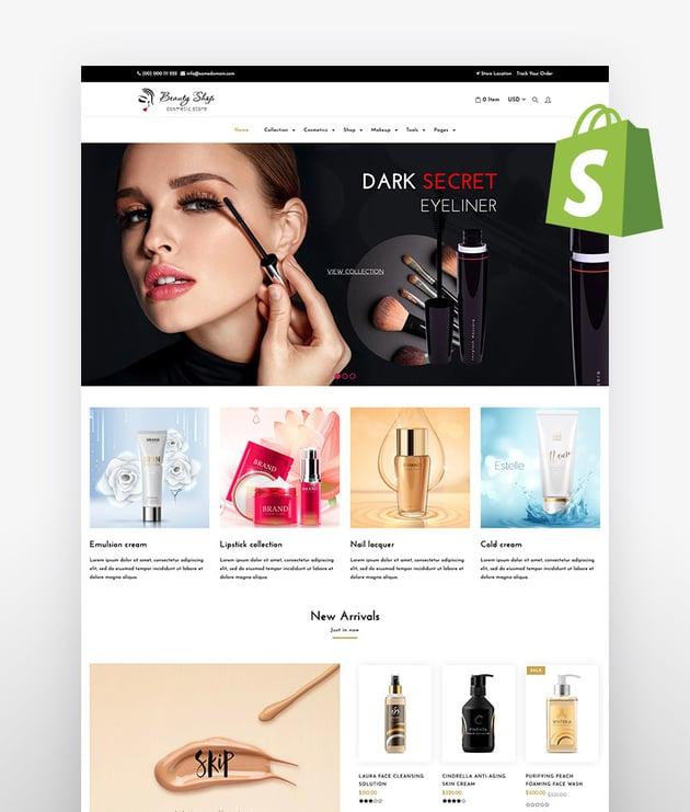 Beauty Store Cosmetics Shopify Theme