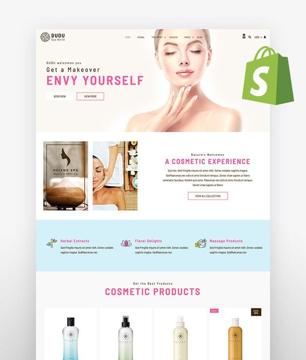 Dudu Cosmetics Shopify Theme