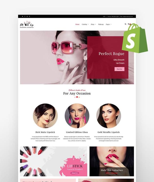 Eli Lipstick Nail Polish Store Shopify Theme