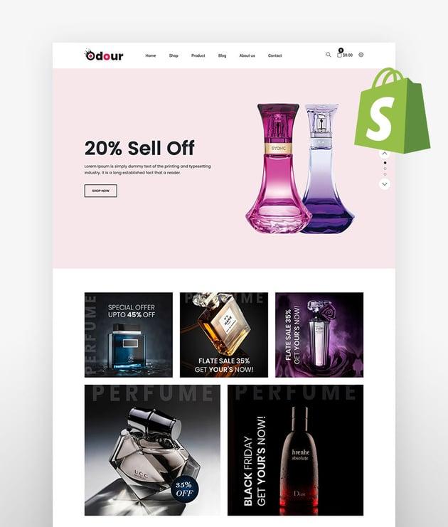 Odour Perfume Shopify Theme