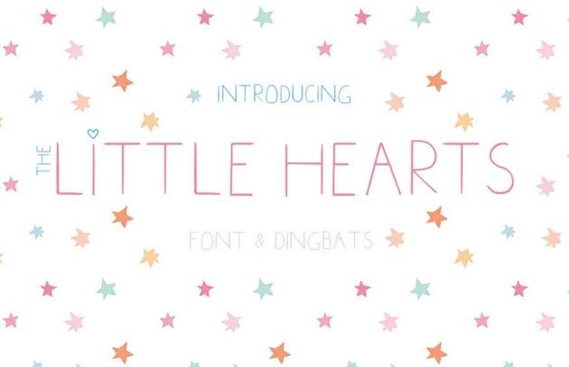 Little Hearts Font