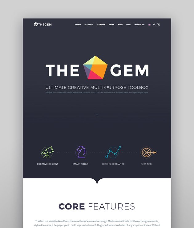 TheGem - Creative Multi-Purpose High Performance WordPress Theme