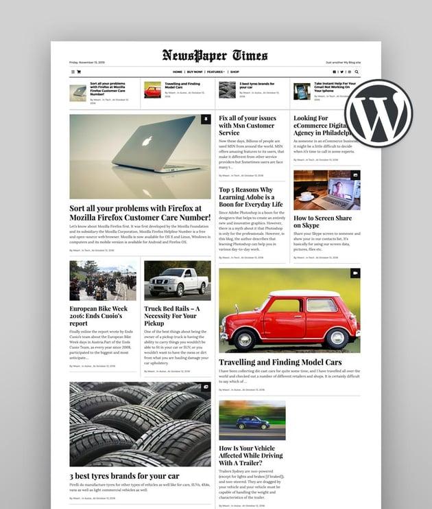NewsPaper - WordPress News