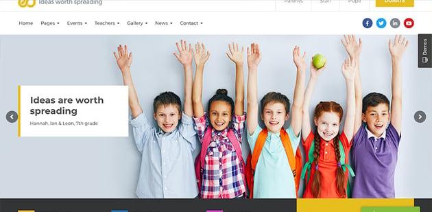 Ed School Education WordPress Theme