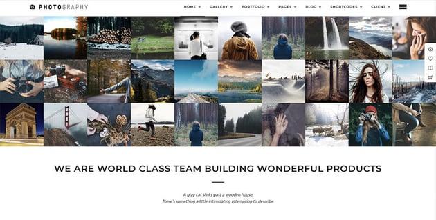 Photography WordPress