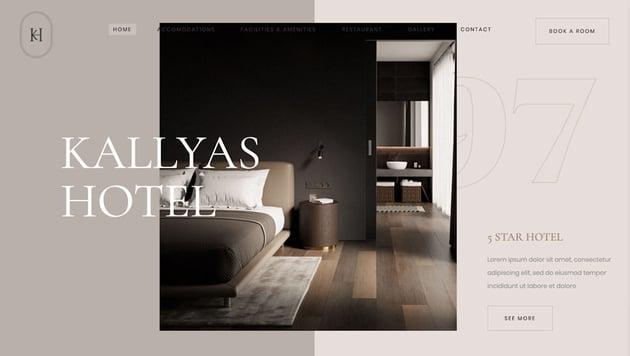 KALLYAS Room Rent WordPress Theme