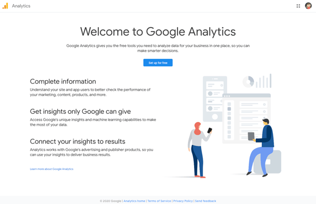 welcome to google analytics
