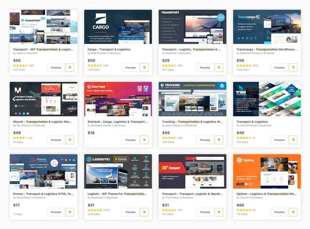 Best Transportation  Logistics WordPress Themes on ThemeForest