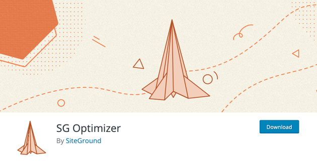 SG Optimizer By SiteGround