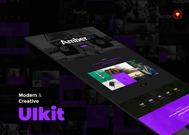 Amber UI kit