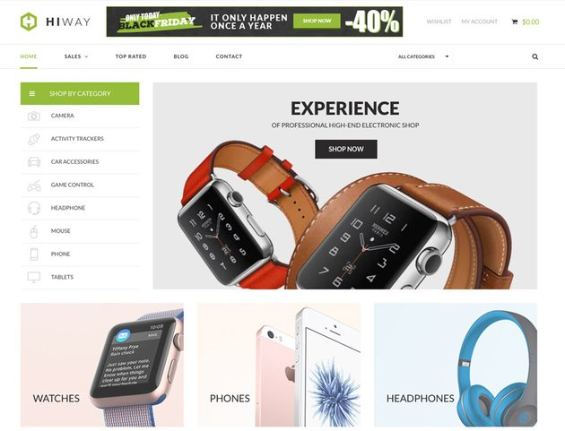 Nitro - Universal WooCommerce Theme from ecommerce experts