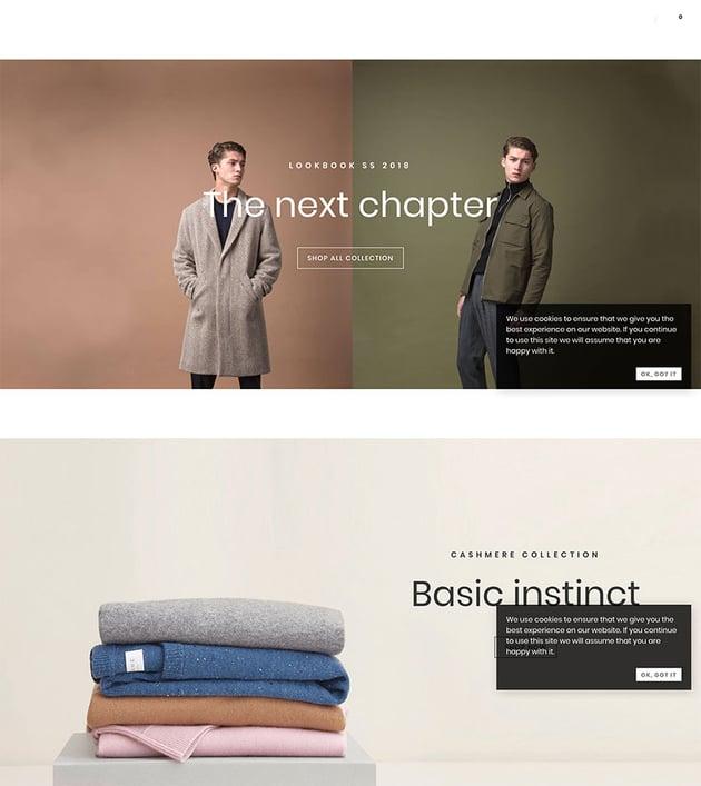 Fashion Shop WordPress Theme for WooCommerce - Amely
