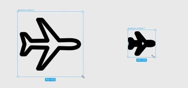 stroke width in figma