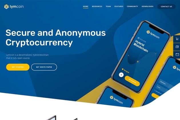 Lymcoin   Cryptocurrency & ICO WordPress Theme
