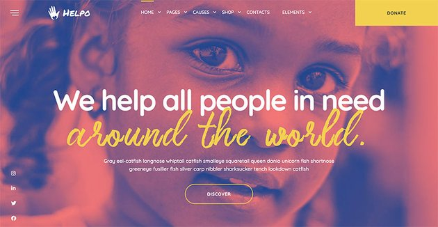 Helpo | Fundraising & Charity WordPress Theme
