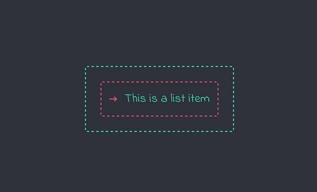 custom list item