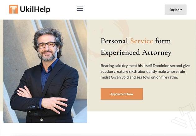 Ukilhelp - Lawyer and Law HubSpot Theme