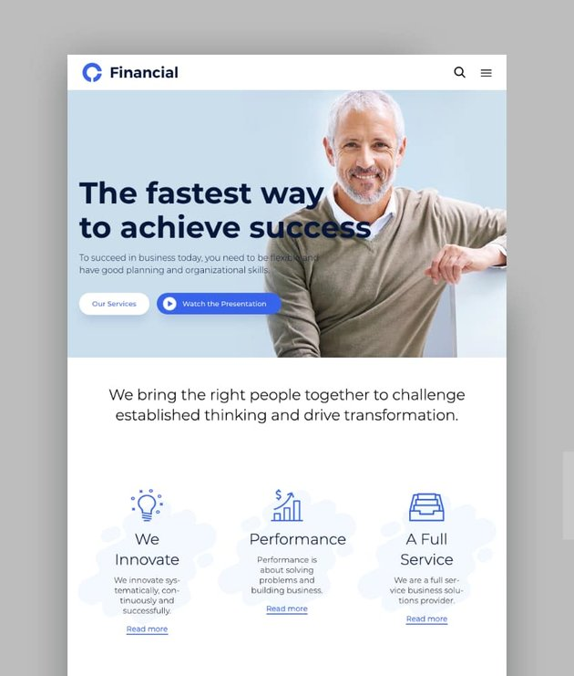 Consultancy - Consulting Finance Accounting WordPress