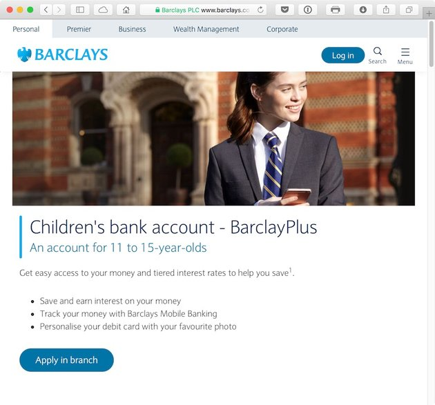 Barclays is one of the big four banks in the United Kingdom