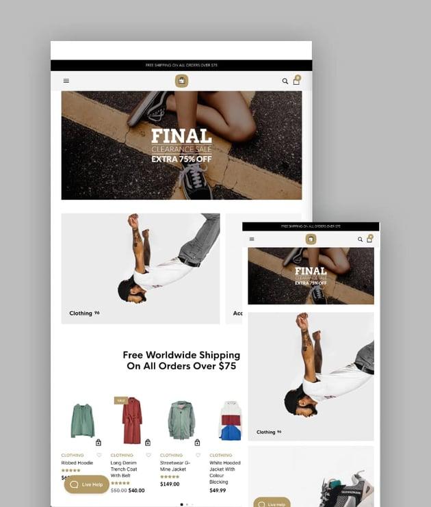 The Retailer WordPress Responsive Theme