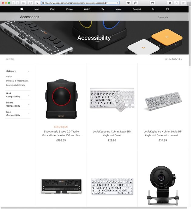 Accessibility Accessories