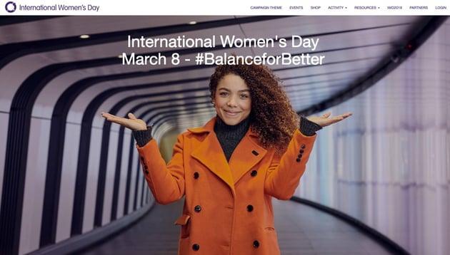 International Womens Day 2019 BalanceForBetter
