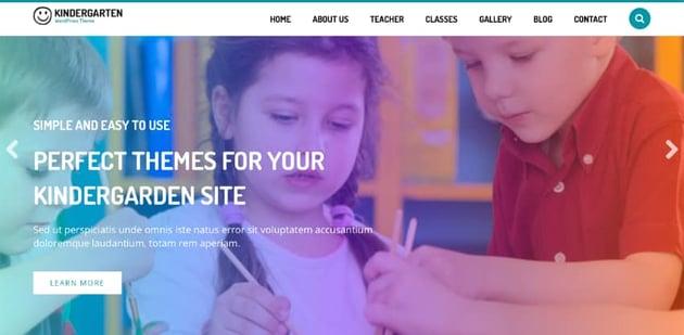Kindergarten WordPress Theme for Children School