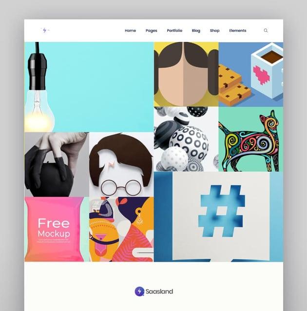 Saasland—MultiPurpose WordPress Theme for Software-as-a-Service Startups