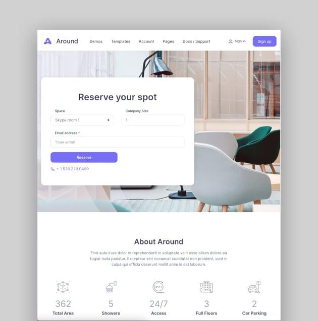 Around—Multipurpose Business WordPress Theme