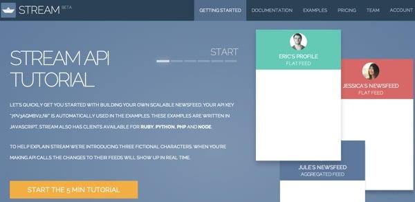 GetStreamio API Tutorial