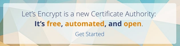 Startup Series - Lets Encrypt New Certificate Authority Free Automated and Open