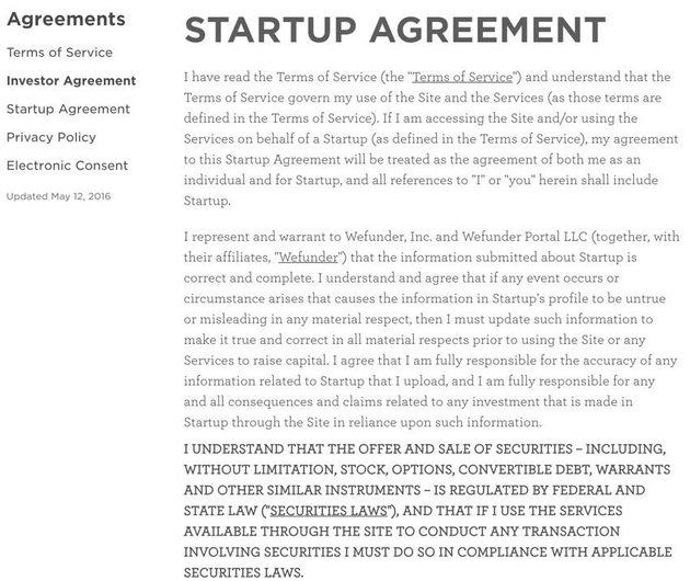 Building Your Startup Crowdfunding - The Startup Agremeent