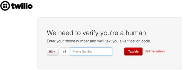 Building Startups Text and SMS - Twilio Verification
