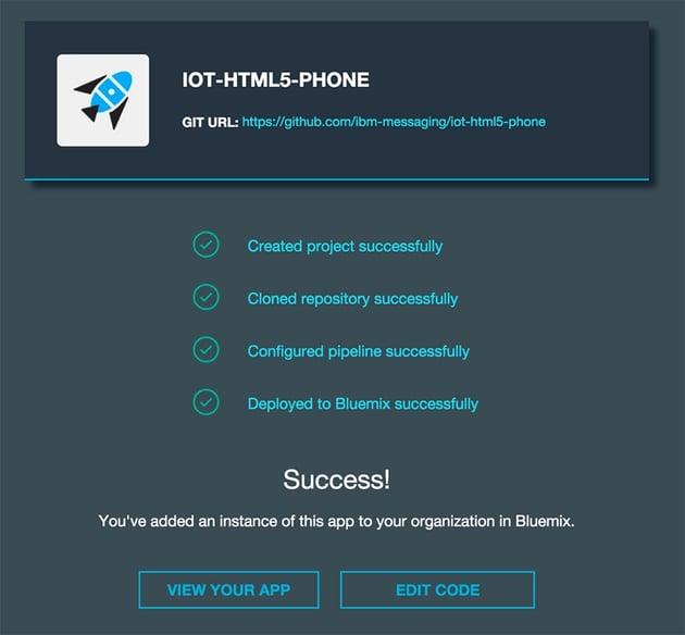 IBM Bluemix IoT Emotiv BB-8 Demo - Bluemix IoT HTML5 Phone app
