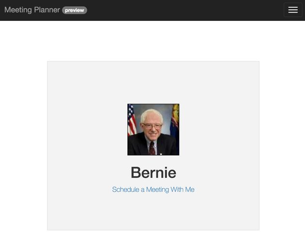Building Your Startup Schedule With Me - Bernie Sanders Schedule With Me