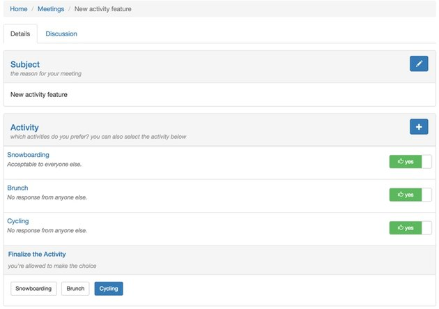 Building Startups - Approaching Major Features - Planning an Activity page