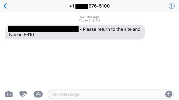 How to Verify a Phone Number via SMS - Text message with verification code