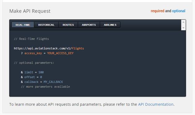 Make API Request