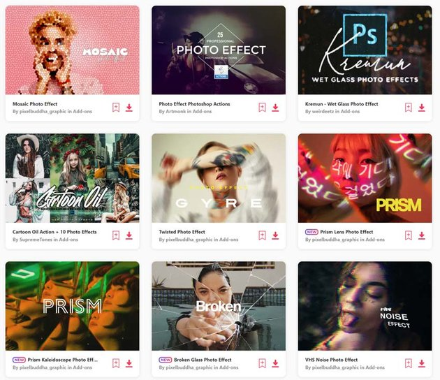 Best Photoshop Actions with Creative Photo Effects